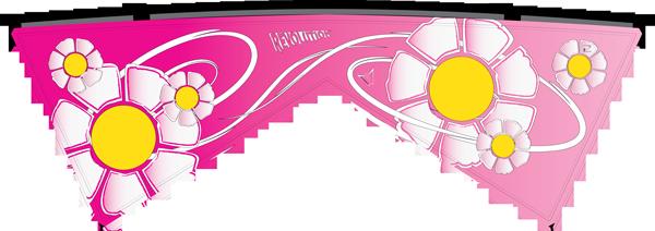 Revolution Kite - Pink Fade