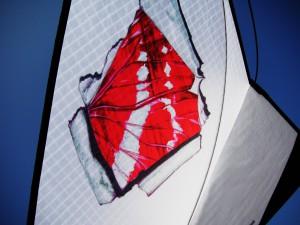 Freestyle Single Line Kite Bai Se Hue Die