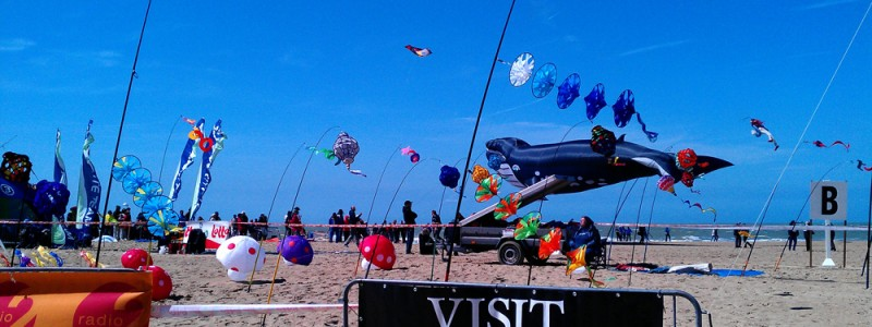 Ostend Lotto kites International 2013