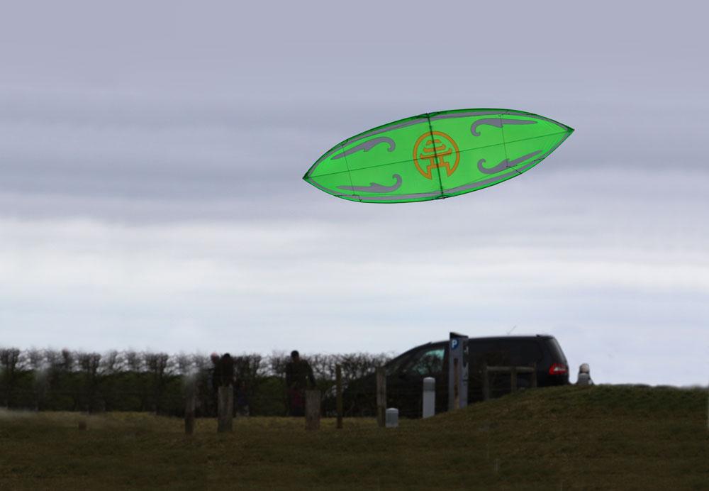 Vented-2G Flute 4 line Kite